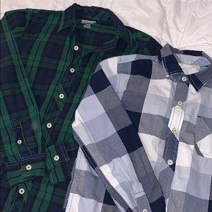 Boys button down shirt bundle